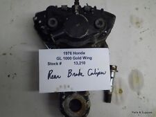 1976 76 Honda GL1000 Gold Wing Rear Brake Caliper
