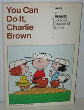 """1974 """"You Can Do It, Charlie Brown"""" Softbound Book"""