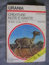 URANIA # 658 - GLASKIN, ERNST, DISCH, ETC  - CREATURE NOTE E IGNOTE - OTTIMO