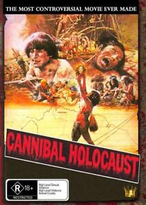 Cannibal Holocaust 1980 Horror Cult Brand New and Sealed All Regions 🔥🔥