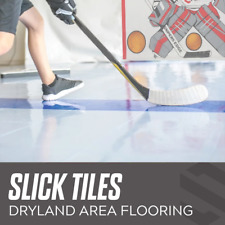 Sniper's Edge Hockey Dryland Slick Tiles in ICE Blue - 20 Squares