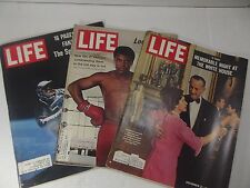 Life Magazines (3 LOT) Oct. 1970; Jun. 1965; Dec. 3, 1965
