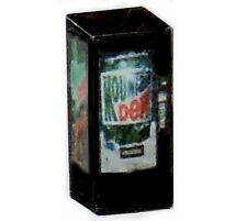 HO Scale LIGHTED Mountain Dew Vending Machine 1/87 Illuminated