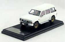 Hi-Story HS115WH 1:43 Nissan SAFARI extra van/high roof grand road (1987) white