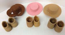 Furskins Bear / Build A Bear Shoes Hats 3 Of Each