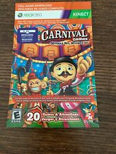XBOX 360 CARNIVAL GAMES MONKEY FULL GAME BRAND NEW REQUIRES XBOX LIVE & KINECT!