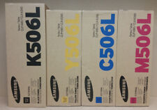 ORIGINAL SAMSUNG CLT-x506L Value Pack K506L C506L M506L Y506L  CLP-680 CLX-6260