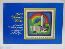 United Nations UN Souvenir Stamp Folder - 1979, New York, MNH Scott 304-315