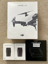NEW DJI Mavic Air Quadcopter w/ Controller - Onyx Black + 2 Batteries + Charger