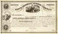 18_ North American Lumber Co Stock Certificate