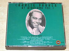 Charlie Parker/At Birdland Volume 1/2000 Ember Double CD Album