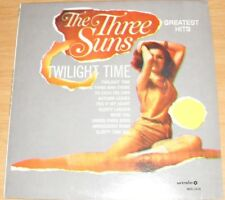 THE THREE SUNS TWILIGHT TIME GREATEST HITS ALBUM 1969 RELEASE MUSICO MDS 1016