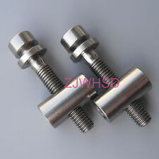 2 set Titanium Ti M5 x 30 Screw Bolt Nut Washer for Thomson Seat post Seatpost
