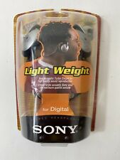 Sony MDR-G52LP Neckband Lightweight Portable Audio Headphones Black Sealed
