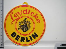 Aufkleber Sticker E. & M. Leydicke - Spirituosen - Destille - Berlin (1842)