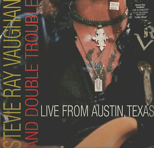 Brand New!! Stevie Ray Vaughan & Double Trouble Live From Austin TX LD SEALED