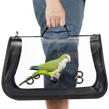 Birds Travel Carrier Outerdoor Transport Cage Breathable Pet Parrot Backpack