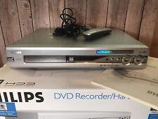 Philips Reproductor Grabador De Dvd con disco duro hdrw 720 con control remoto 120GB HDD