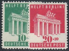 Alliierte Bestezung Berlin - Hilfe Nr. 101 - 102 postfrisch