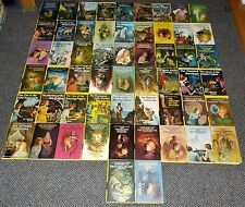 Complete Set Nancy Drew Mystery Novels #1-56 Yellow PC Matte HC Good Cond