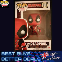 Funko Pop DEADPOOL 111 With TWO SWORDS Marvel FREE PROTECTOR NEW