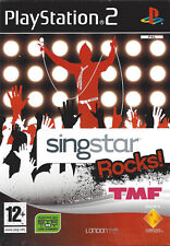 SINGSTAR ROCKS TMF for Playstation 2 PS2 - with box & manual - PAL