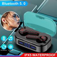 2020 TWS Wireless Bluetooth 5.0 Headset Earphones Mini Stereo Headphones Earbuds