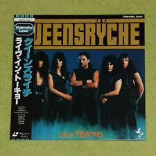QUEENSRYCHE Live In Tokyo - ULTRA RARE 1985 JAPAN LASERDISC + OBI (L098-1019)