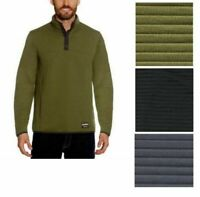Gerry Men's Ottoman ¼ Snap Front Lightweight UV Protection Pullover Sweater
