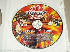 BAKUGAN BATTLE BRAWLERS Nintendo Wii System Video Game Disc FREE SHIPPING
