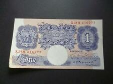 DUGGLEBY B249 PEPPIATT 1940 ONE POUND NOTE FAIR USED CONDITION LAST SERIES