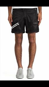 NWT $110 Mens Puma By Mihara Lightweight Short Pants XL Black Shorts