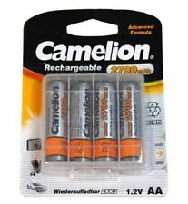 BATTERIE RECHARGEABLE AA CAMELION NI-MH 2700MAH 4PZ #13910