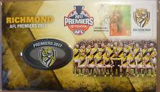 AUSTRALIA 2017 RICHMOND AFL PREMIERS Limited Edition PNC Medal FDC #0813 of 2017