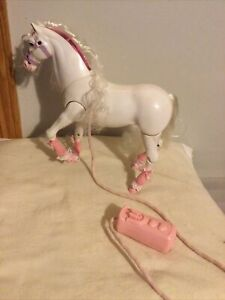 Vintage Starlight 1991 Galoob Remote Control White/Pink Horse