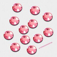 Pedrería HotFix rhinestones 100 unidades Rose ø4mm