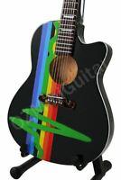 Miniature Acoustic Guitar PINK FLOYD