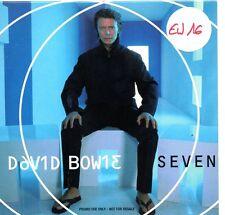 David BOWIESeven PROMO 4-Track CARD SLEEVECD SINGLEVirgin SEVEN DPRO12000
