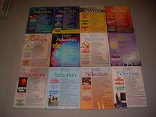 #8 Lot of 12 Sélection du Reader's Digest 1990 1992