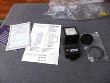 Video Camera Camcorder Parts: Unomat DC550SP Light, Sigma Achromatic Macro Lens