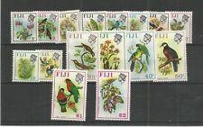 FIJI 1971 BIRDS & FLOWERS SG,435-450 U/MINT LOT 7531A