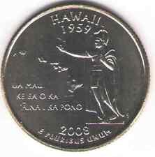 Us. 2008-D. Hi. Hawaii Statehood (1959) Quarter. Uncirculated.