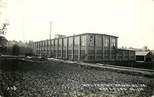 Rockford MI Wolverine Tanning Company~Window Chute~Road w/Pipe Curb~RPPC c1910