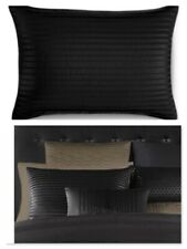 NWT $120 Hotel Collection ONYX  Standard PillowSham  BLACK
