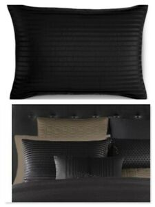 NIB $120 Hotel Collection ONYX Standard PillowSham Color BLACK