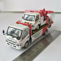 die-cast model TINY WORLD CHAMPION FLATBED TOW TRUCK WC HINO 300 1:64 zinc alloy