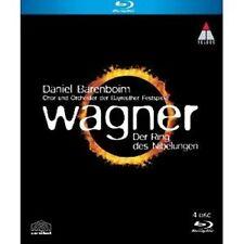 Daniel Barenboim/Obf-l' anello del Nibelungen 4 BLU RAY opera classica NUOVO Wagner