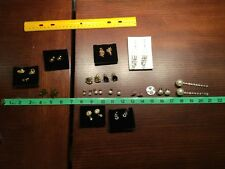 and Pins Jewelry Dangle Stud Pearl-like Mixed Lot of Avon Earrings Unbranded