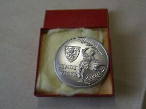 Medaille 2.Preis Motorrad-Schijöring 1965 MSC Steyr