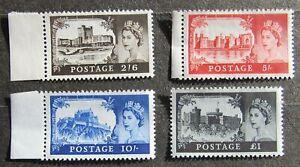 Great Britain 1967 regular issue, Mi #477-480, MNH, CV=15EUR